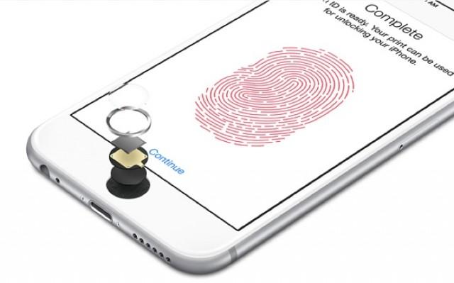 Apple Touch ID 指紋辨識