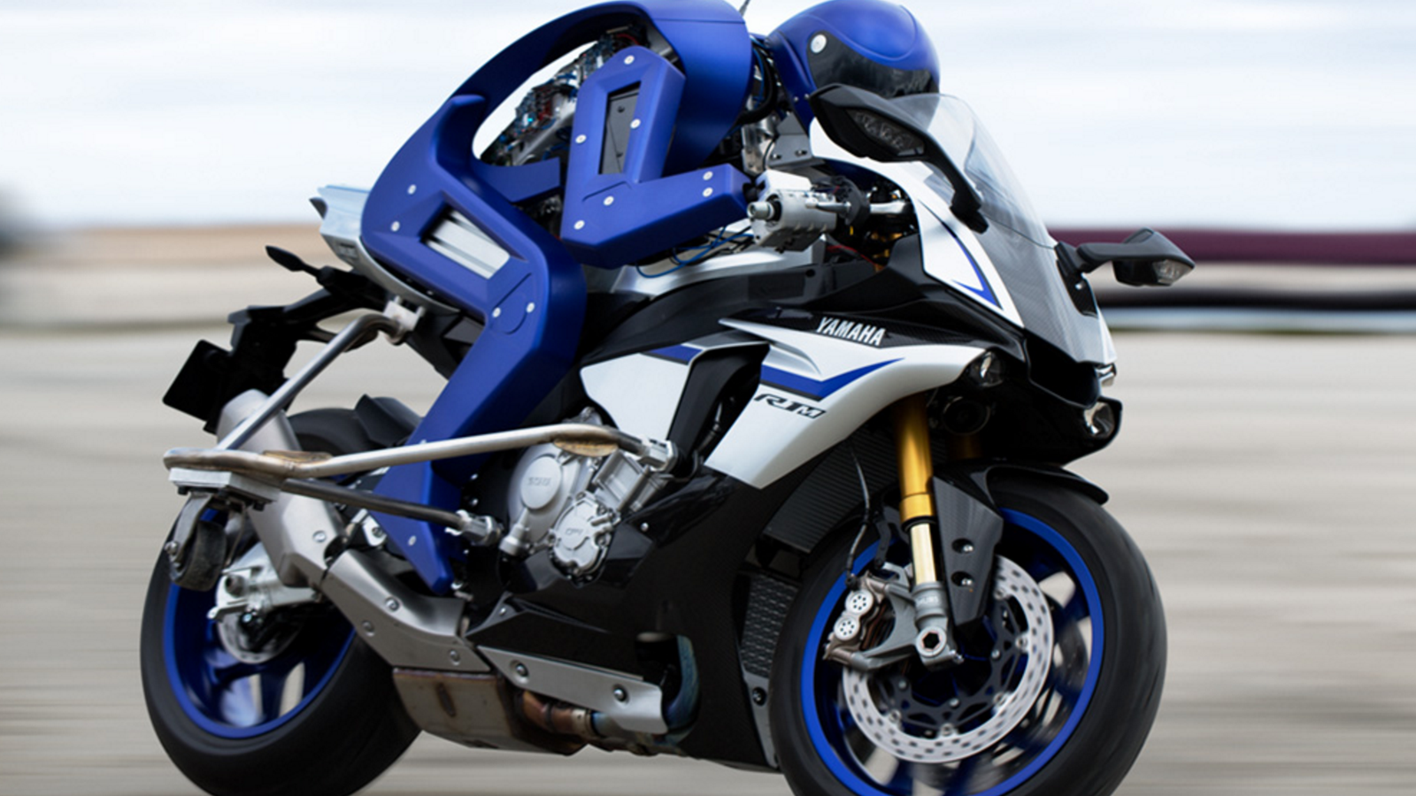 Yamaha 成功打造「摩托機器人」,並已對 MotoGP 世界冠軍發出挑戰書!